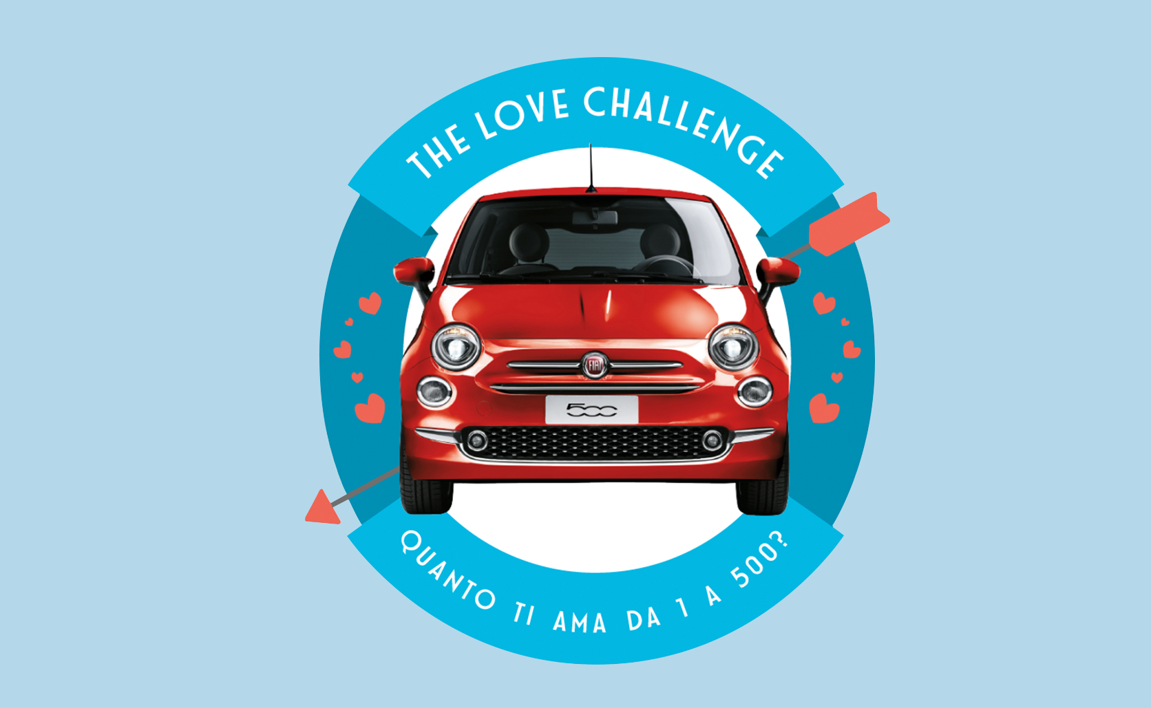 Fiat 500 - The love Challenge