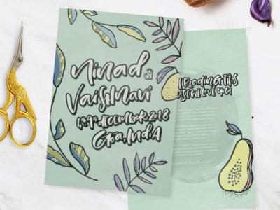 Vaishnavi&Ninad Wedding Stationery